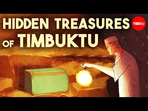 The hidden treasures of Timbuktu - Elizabeth Cox