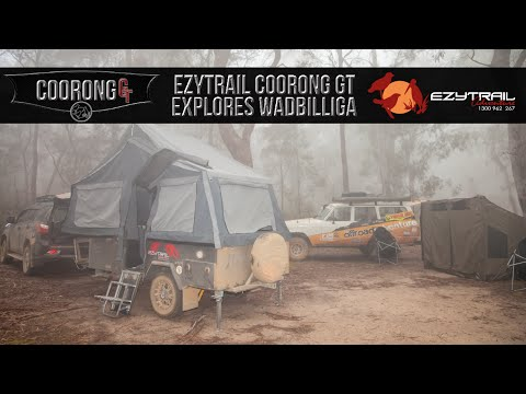 Ezytrail Camper Trailers Coorong GT off road video