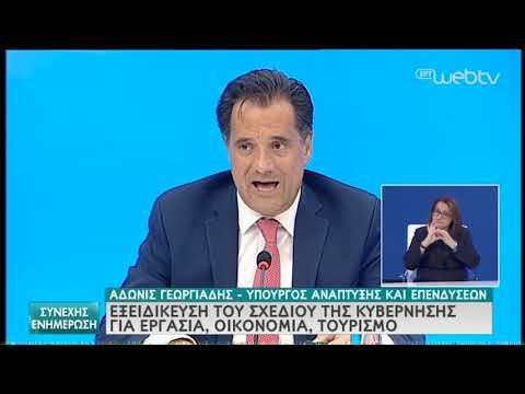 Γεωργιάδης | Το σχέδιο της κυβέρνησης για τις επιχειρήσεις & τις επενδύσεις | 20/05/2020 | ΕΡΤ