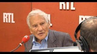 Jean d'Ormesson, génial, avec Laurent Gerra  sur RTL le 26/11
