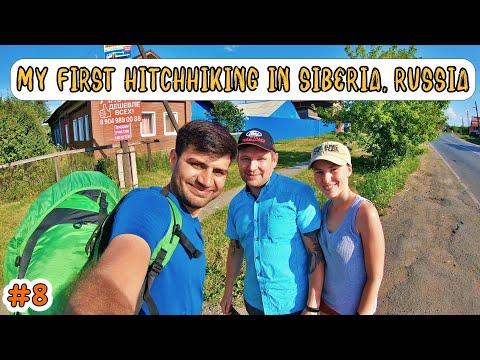 FIRST HITCHHIKING IN SIBERIA RUSSIA - Yekaterinburg to Tyumen