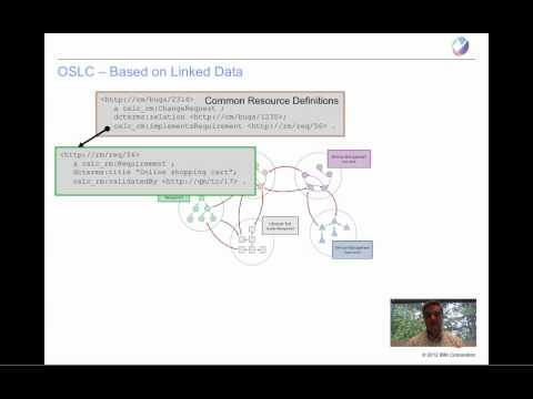 oslc - In this short presentation, Steve Speicher goes through the basics of linked data and how Open Services for Lifecycle Collaboration (OSLC) uses linked data t...