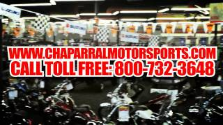 10. Motorcycles, ATVs available at Chaparral Motorsports