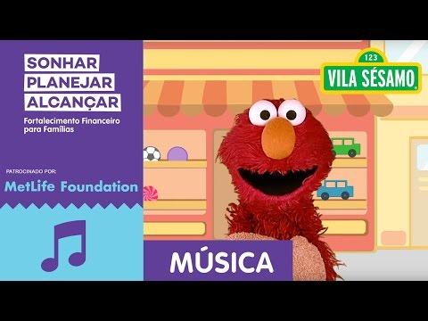Vila Sésamo: 'Sonhar, Planejar, Alcançar: Educação Financeira para Famílias''