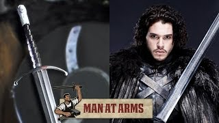 Jon Snow's Longclaw (Game of Thrones) - MAN AT ARMS - YouTube