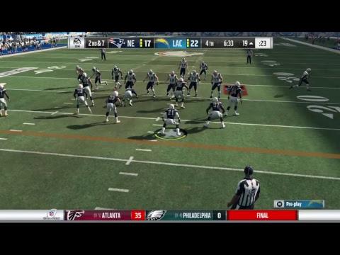 Madden 18 FS Franchise |S4 Div. Rd| Chargers v. Patriots