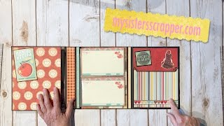 Hey everyone! Yes, I'm sharing yet another Recipe Folio. I used the really awesome Bo Bunny Kiss the Cook collection. I've had this collection for awhile now, but was waiting for just the right project and I think this Folio is perfect for this collection.Thanks for watching!