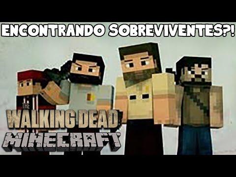 Minecraft The Walking Dead – Encontrando sobreviventes?! #07