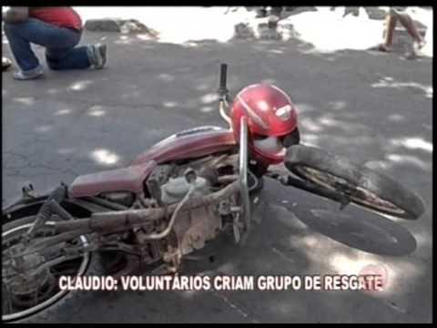 Voluntários criam grupo de resgate em Cláudio