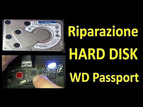 PierAisa #343: Riparazione Hard Disk WD My Passport 4TB