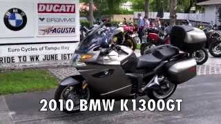 7. Pre-Owned 2010 BMW K1300GT Magnesium at Euro Cycles of Tampa Bay