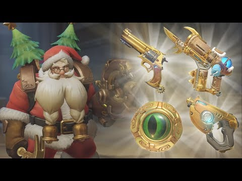 Overwatch - The Greatest Golden Guns (видео)