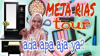 Video MEJA RIAS TOUR || ada apa saja di meja rias bu dendy??? MP3, 3GP, MP4, WEBM, AVI, FLV Januari 2019