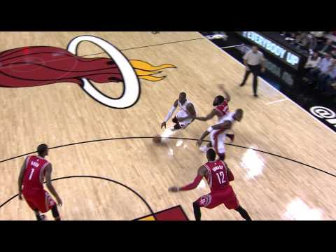 Bosh - Chris Bosh draws the foul and puts up the flip shot over his head and gets the kind bounce. About the NBA: The NBA is the premier professional basketball league in the United States and Canada....