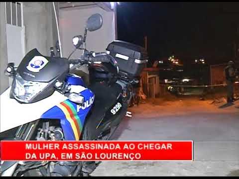 [RONDA GERAL]  Mulher é assassinada ao chegar na UPA, em São Lourenço