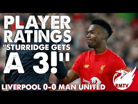 Liverpool V Man United 0-0 | Sturridge Gets A 3! | Player Ratings
