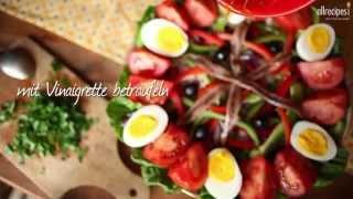 Nizzasalat (Salade nicoise)