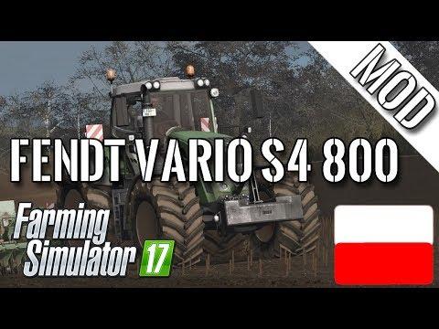 Fendt Vario S4 800 SERIES v1.0.0.2
