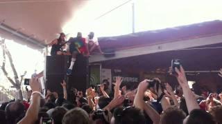 Odd Future @ Thrasher Party SXSW - Tyler Speaker Jump
