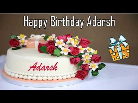 Happy birthday quotes - Happy Birthday Adarsh Image Wishes