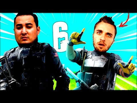 DECOUVERTE RAINBOW SIX SIEGE AVEC SQUEEZIE !