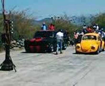 Arrancones Bocho vs Chevrolet!!! Autlán!!! R*R