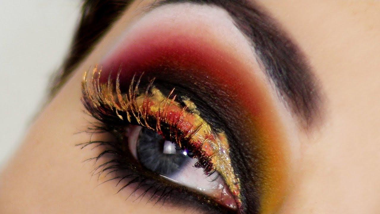 FATA DEL FUOCO ♥ Make-up FANTASIA per diventare una FATA FIAMMANTE