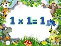 Table of 1/table of one/1 ka table/multiplication table of 1