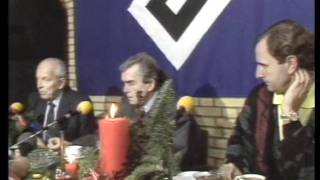Ernst Happel wünscht schöne Feiertage