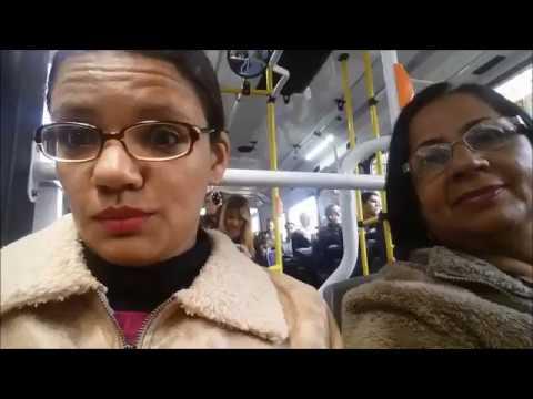 VLOG NA ARGENTINA #2 - Andando de ônibus em Buenos Aires