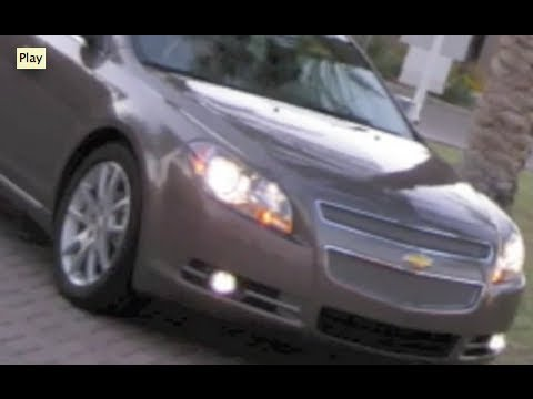 How to install/remove air filter on a Chevy Malibu 08-2011 LTZ