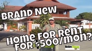 How About A Brand New 2 Story Home In Chiang Mai For $500