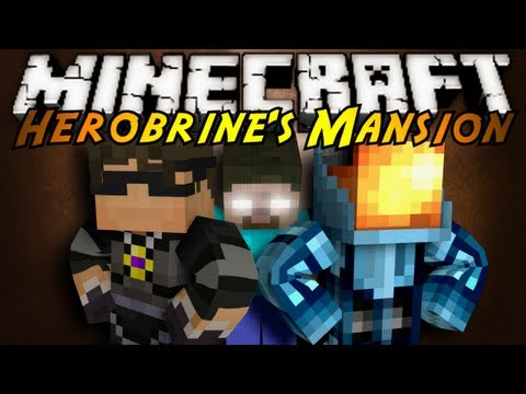 mansion videos - Can Sky and MinecraftUniverse Stop Herobrine?! Join Sky and MinecraftUniverse as they tackle 6 bosses, ton's of strong monsters, AND midgets.. MinecraftUniverses Channel http://www.youtube.com/use...