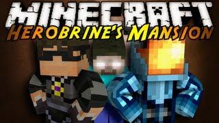 Minecraft: Herobrine's Mansion Part 1!