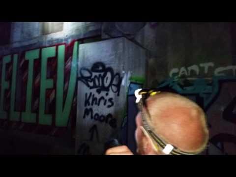 Tunnel exploring Minneapolis park part 1