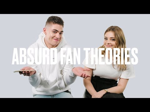 Josephine Langford and Hero Fiennes-Tiffin Read After Movie Fan Theories | ELLE