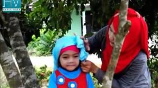 Cara Memakai Jilbab Untuk Anak-anak Yang Unik Dan Menarik - Tutorial Hijab