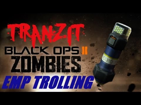 Black Ops 2 Zombies: EMP the Pack-a-Punch? The Ultimate Troll!