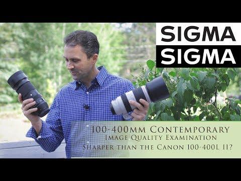 Sigma 100-400mm C Image Quality | Sharper than a Canon 100-400L II? | 4K