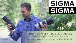 Sigma 100-400mm f/5-6.3 DG OS HSM Contemporary  Image Quality Examination.  Could this budget lens actually outperform the mighty Canon 100-400L II?  Photographer Dustin Abbott gives you a detailed breakdown of the image quality from the lens and answers that question through a direct comparison.  Image Gallery:  http://bit.ly/100400CIG   Purchase the Lens: B&H Photo: https://bhpho.to/2qZy41I  Amazon.com: http://amzn.to/2rPI0vU  Amazon Canada: http://amzn.to/2sHkq4C  My Patreon: https://www.patreon.com/dustinabbott  Zhiyun Crane - USA: https://bhpho.to/2gDJhnC   Check me out on:  Personal Website:  http://dustinabbott.net/   Sign up for my Newsletter: http://bit.ly/1RHvUNp   Google+: http://bit.ly/24PjMzv  Facebook:  http://on.fb.me/1nuUUeH   Twitter:  http://bit.ly/1RyYxIH   Flickr:  http://bit.ly/1UcnC0B   500px:  http://bit.ly/1Sy2Ngu Check me out on:  Personal Website:  http://dustinabbott.net/   Sign up for my Newsletter: http://bit.ly/1RHvUNp   Google+: http://bit.ly/24PjMzv  Facebook:  http://on.fb.me/1nuUUeH   Twitter:  http://bit.ly/1RyYxIH   Flickr:  http://bit.ly/1UcnC0B   500px:  http://bit.ly/1Sy2NguKeywords:  Sigma 100-400 C, Sigma 100-400, Sigma 100-400mm, Sigma 100-400mm f/5-6.3 DG OS HSM Lens, Sigma 100-400mm f/5-6.3 DG OS HSM, Sigma 100-400mm f/5-6.3 DG OS HSM Contemporary, Sigma 100-400 review, Review, Dustin Abbott, Video Test, Sigma 100-400 Contemporary Review, Sigma 100-400 Review, AF, Accuracy, Speed, Sharpness, Resolution, Wildlife, BIF, Bird, Build, Sample Images, Hands On, USB Dock, Hands On,
