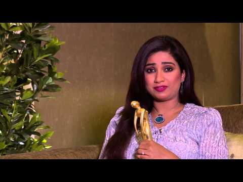 Shreya Ghoshal - Royal Stag Mirchi Music Awards Bangla 2015-  Best Female Vocalist of the Year