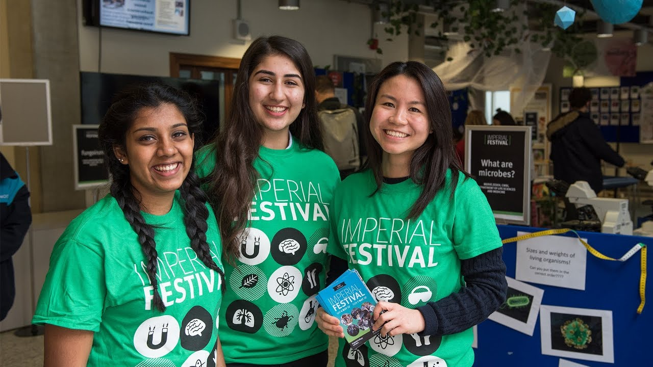 Volunteer for Imperial Festival