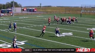 NCAFA 2K16 - BANTAM - Week 2 [ BELL WARRIORS VS ORLEANS BENGALS