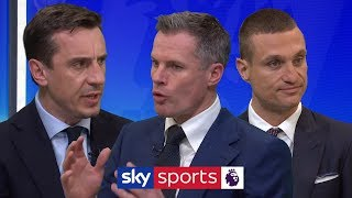 A vital point or a missed opportunity? | Carra, Neville, Vidic & Souness | Man Utd 0-0 Liverpool