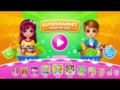 Supermarkt app bubadu – Spel voor kinderen – Boodschappen doen en boeven vangen!