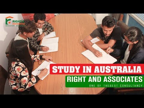 (Study in Australia | Consultancy in Nepal | Right and Associates | Putalisadak | Colleges Nepal - Duration: 3 minutes, 51 seconds.)