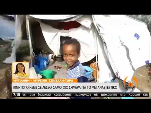 Κινητοποιήσεις σε Λέσβο, Χίο, Σάμο για το μεταναστευτικό  | 22/01/2020 | ΕΡΤ