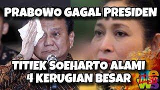 Video Pasca Prabowo Gagal Jadi Presiden, Titiek Soeharto Alami 4 Kerugian Ini MP3, 3GP, MP4, WEBM, AVI, FLV Mei 2019
