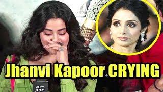 Video Jhanvi Kapoor EMOTIONAL Interview On Sridevi At Dhadak Trailer Launch MP3, 3GP, MP4, WEBM, AVI, FLV September 2018