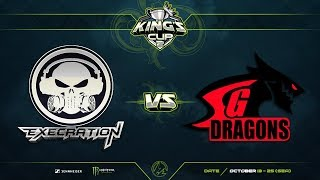 Execration против SG Dragons, Первая карта, Групповой этап, SEA Region, King's Cup 2
